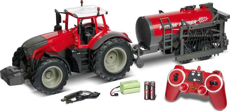 CARSON RC-Traktor »Traktor mit Tankwagen, 1:16«
