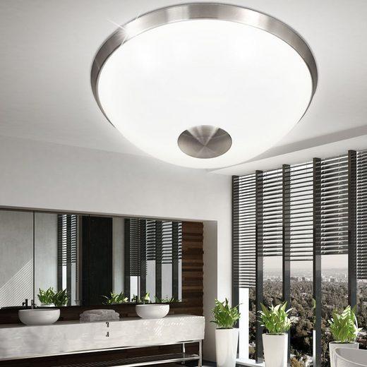 WOFI Deckenstrahler, LED Decken Lampe Bade Zimmer Beleuchtung Strahler Spot Leuchte weiß rund WOFI 9030.01.64.0300