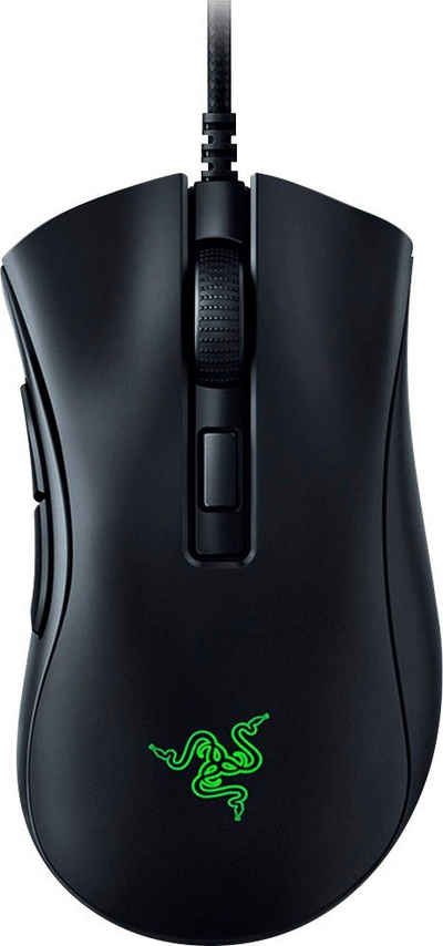 RAZER »Deathadder V2 Mini + Mouse Grip Tap« Gaming-Maus (kabelgebunden)