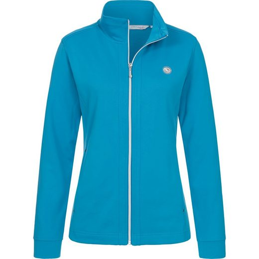 DEPROC Active Fleecejacke »SHOENWOOD II WOMEN« weiche Fleecejacke in traditioneller Optik