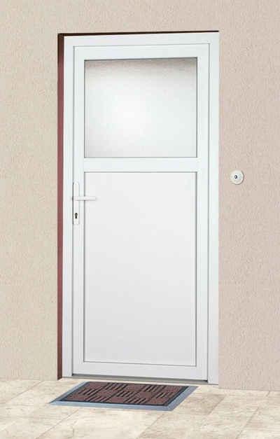 KM Zaun Haustür »K601P«, BxH: 108 x 203 cm, weiß, in 2 Varianten
