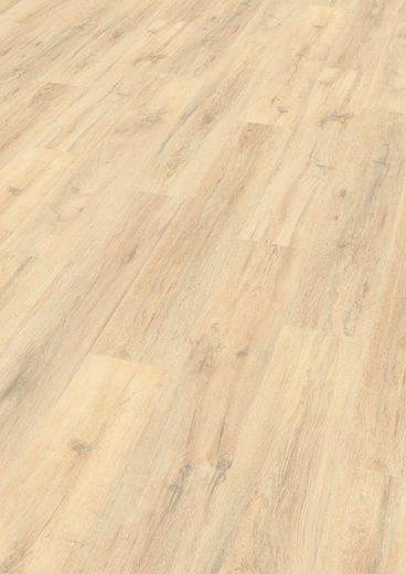 EGGER Designboden »HOME Design Eiche massiv braun«, 4-Seitige Fase 1,989 m²/Pkt., Stärke: 5 mm