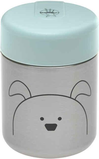 LÄSSIG Thermobehälter »Little Chums, Dog«, Edelstahl, Polyprophylen (PP), Silikon, (1-tlg)
