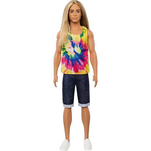 Mattel® Anziehpuppe »Ken Fashionistas Puppe mit langem blonden Haar«