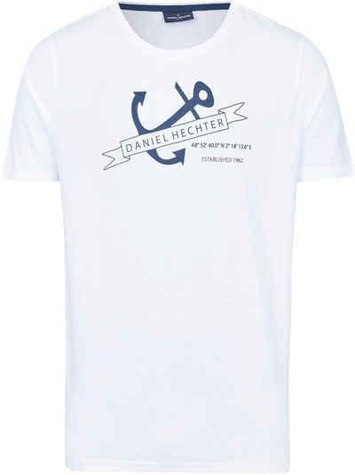 Daniel Hechter T-Shirt maritimer Print- Aufdruck