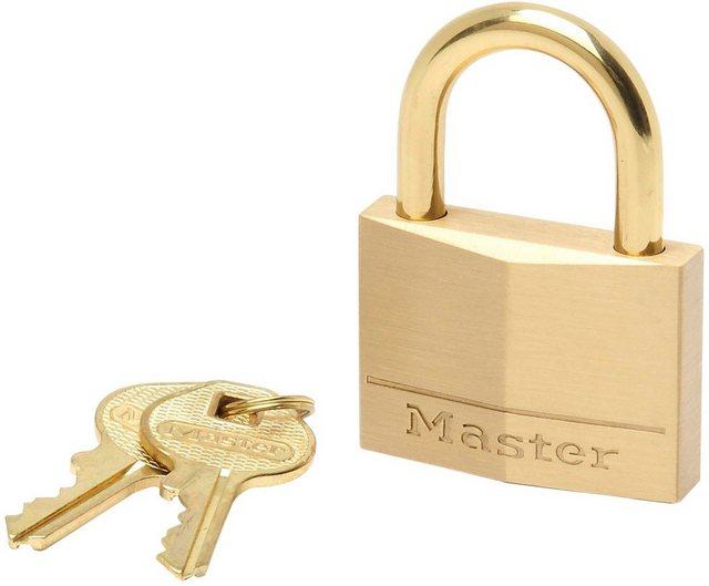 Master Lock Vorhängeschloss, Sicherheitsklasse 5, Messing