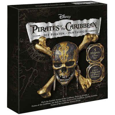 Kiddinx Hörspiel »CD Disney - Fluch der Karibik 5er Box«