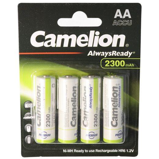 Camelion »AA, Mignon LR6, HR6, NiMH Akku mit bis zu 2300mAh« Akku