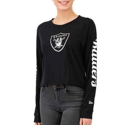 New Era Langarmshirt »NFL Cropped Oakland Raiders«