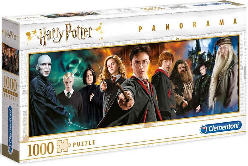 Clementoni® Puzzle »Panorama Harry Potter«, 1000 Puzzleteile, Made in Europe, FSC® - schützt Wald - weltweit