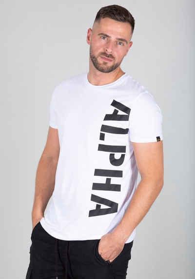 Alpha Industries Rundhalsshirt »Side Print Tee«