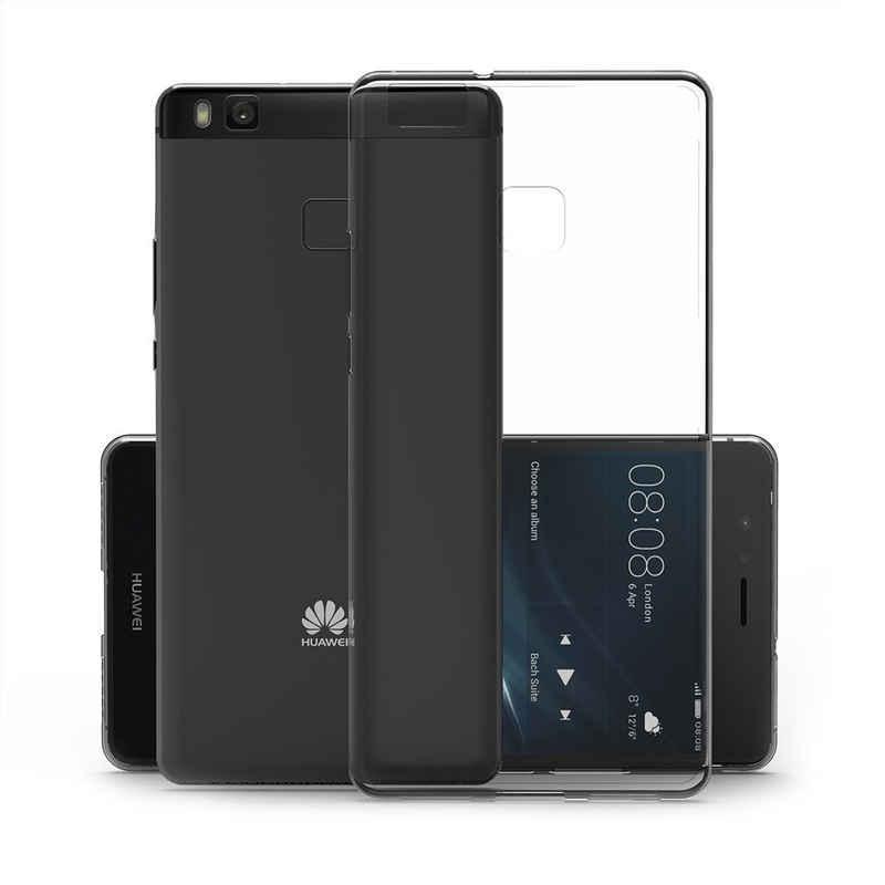 CoverKingz Handyhülle »Huawei P9 Lite Handy Hülle Silikon Cover Schutzhülle Case Slim Klar« Huawei P9 Lite