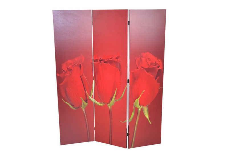 moebel-direkt-online Raumteiler »Rose«, 1-tlg., mit 2 unterschiedlichen Motiven