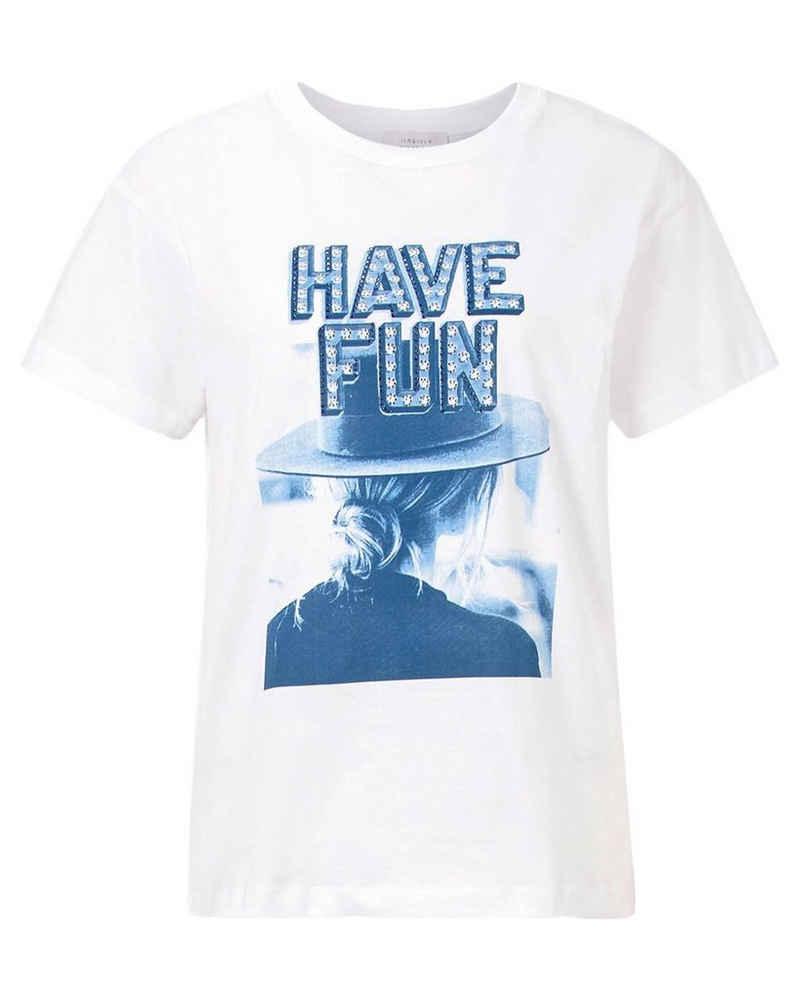 Rich & Royal T-Shirt »Damen T-Shirt HAVE FUN«