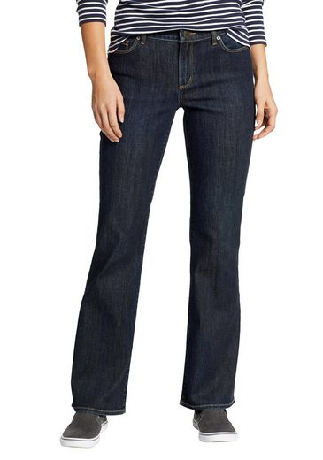 Eddie Bauer Bootcut-Jeans Voyager Jeans - High Rise - Bootcut