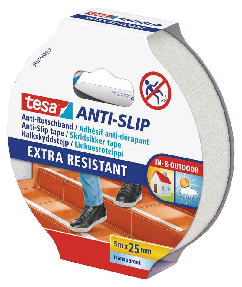 tesa Verlegeband »Anti-Rutschband« (1-St) Selbstklebend, Für Treppen, Leitern und glatte Böden