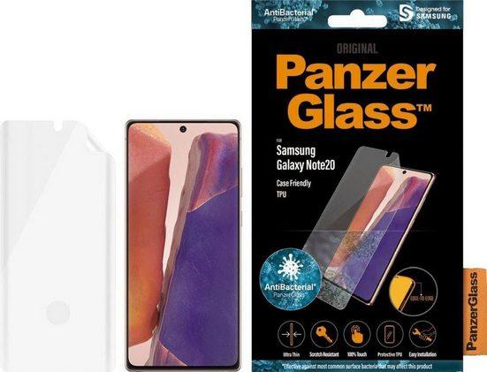PanzerGlass »E2E Samsung Galaxy Note20 FP CF, TPU« für Samsung Galaxy Note20, Displayschutzglas, 1 Stück