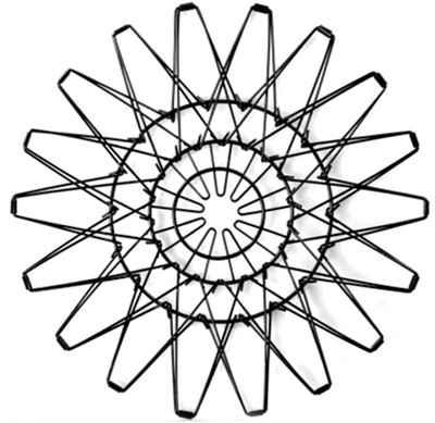 STONELINE Obstschale »Flexi Korb«, Metall, faltbar