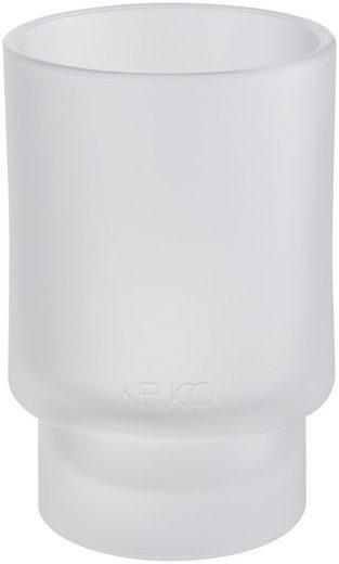 Keuco Zahnputzbecher »Edition 300«, (1-St), aus Echtkristallglas