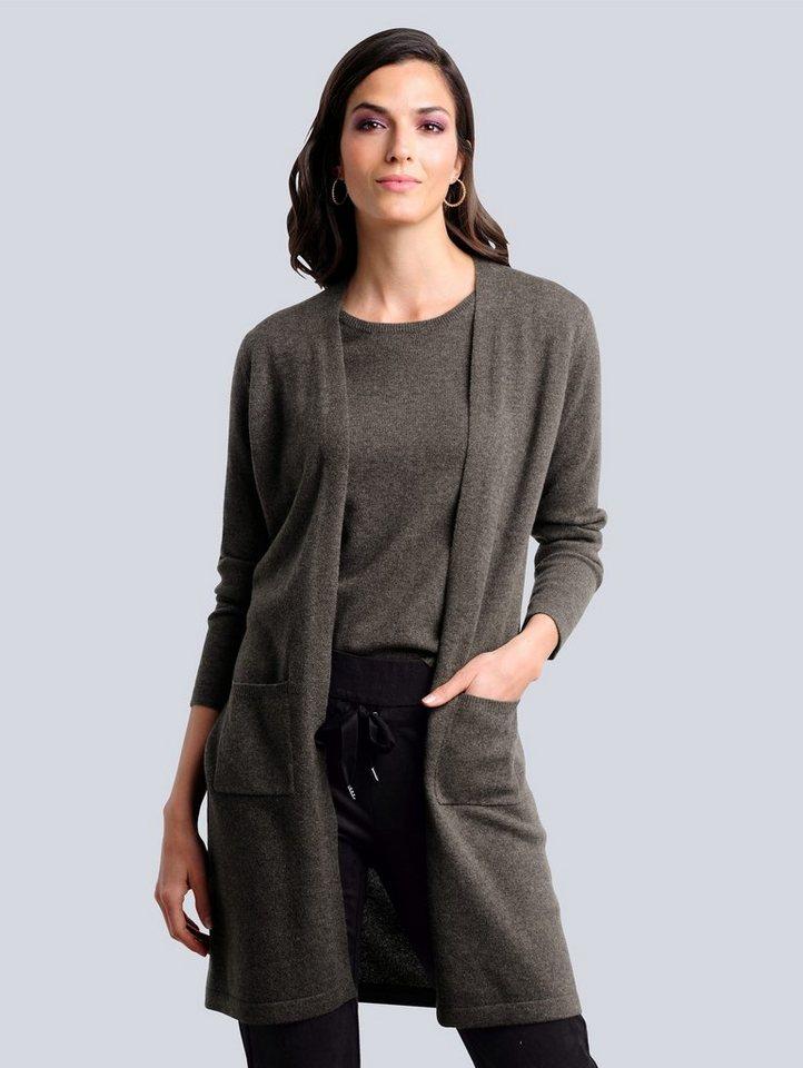 alba moda -  Strickjacke mit Kaschmiranteil
