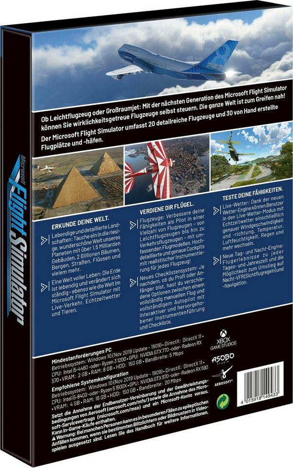 Flight Simulator Standard Edition PC