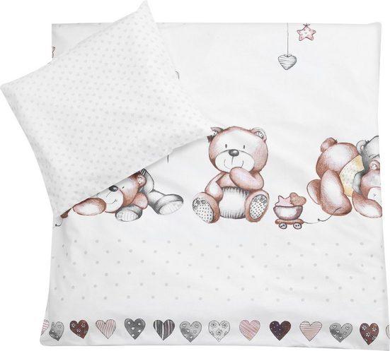 Kinderbettwäsche »Schmusebär«, Zöllner, mit Teddybären