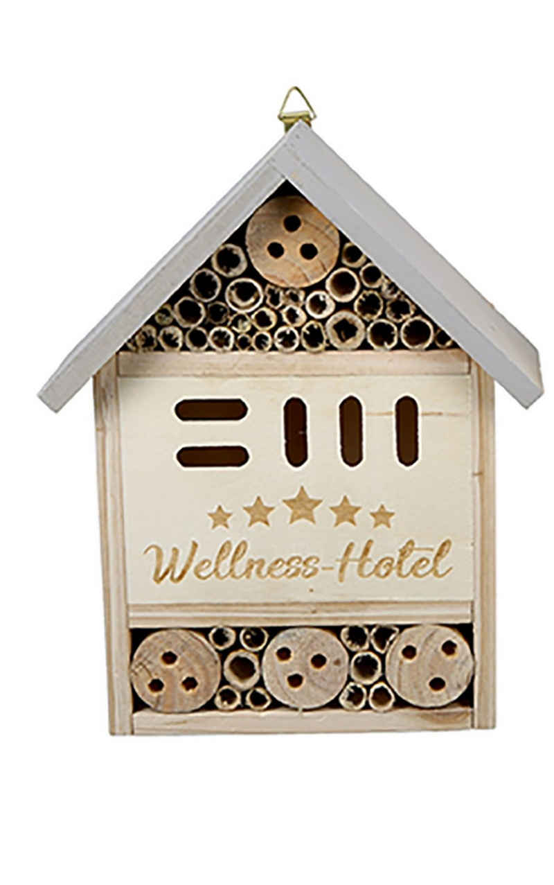 dekojohnson Gartenfigur »Insektenhotel Insektenhaus Gartendeko 20x8x25cm«
