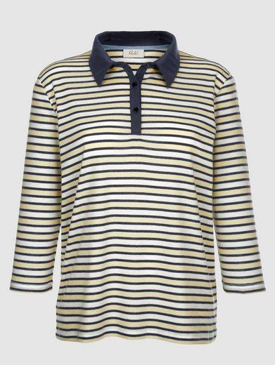 Paola Shirt mit Streifenmuster rundum