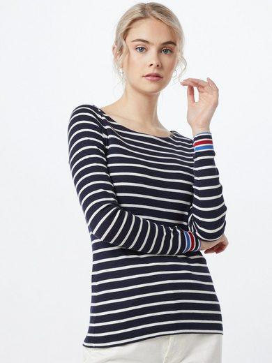 Esprit Langarmshirt »OCS stripe tee«