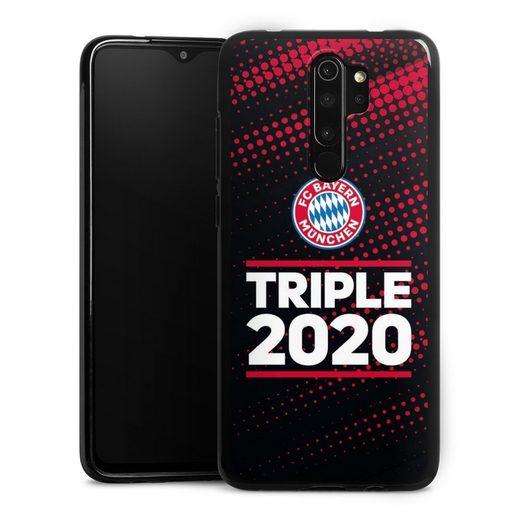 DeinDesign Handyhülle »Triple 2020 Rauten« Xiaomi Redmi Note 8 Pro, Hülle FC Bayern München FCB Champions League