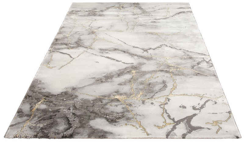 Teppich »Juliet«, Leonique, rechteckig, Höhe 12 mm, moderne Marmor-Optik, Wohnzimmer