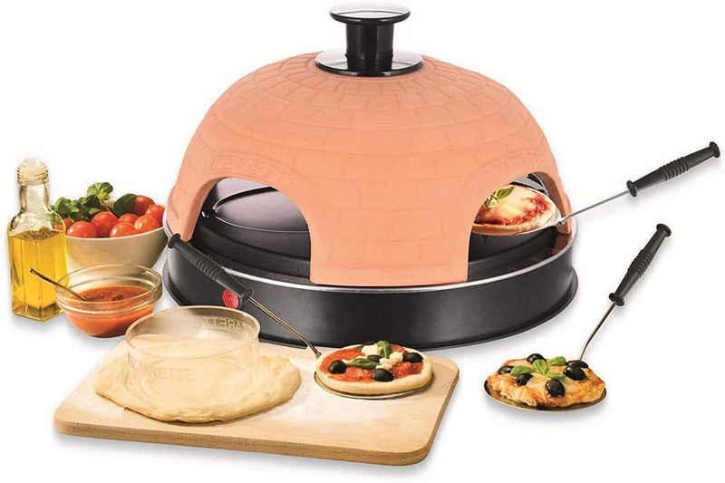 Emerio Standgrill Pizza-Ofen, PIZZARETTE PO-115985 für 4 Personen Mini-Pizza, 900 W