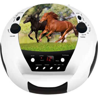 BigBen »CD-Player mit Radio CD52 Horse« CD-Player