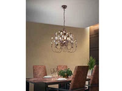 TRIO LED Kronleuchter, modern im Florentiner Stil, für über Esstisch-lampe, Galerie, Wohnzimmer, Vintage, Ankleidezimmer, Flur-Beleuchtung