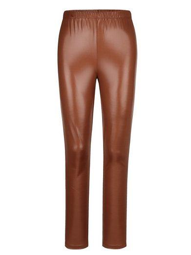 MIAMODA Leggings aus leicht glänzender Qualität