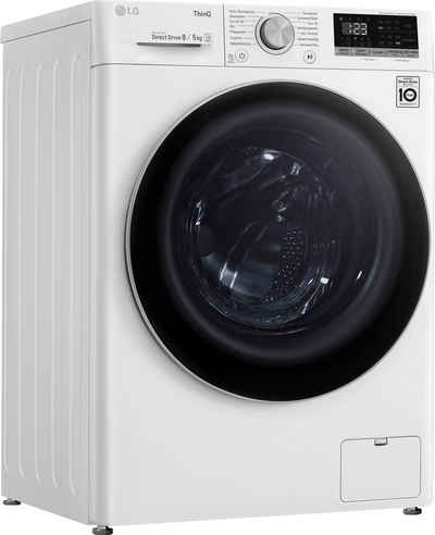 LG Waschtrockner F14WD85TN1E, 8 kg, 5 kg, 1400 U/min