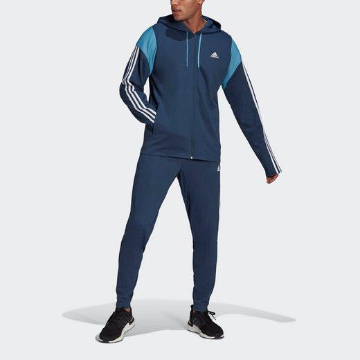 adidas Performance Trainingsanzug »ADIDAS SPORTSWEAR RIBBED INSERT«