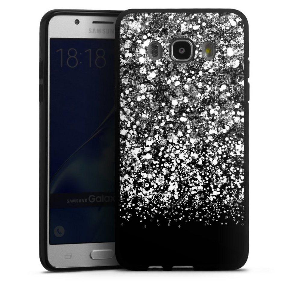 DeinDesign Handyhülle »Snow Fall Glitter Look« Samsung ...