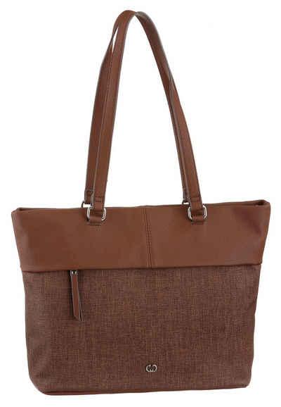 GERRY WEBER Bags Shopper »Keep in Mind«, im zeitlosen Design und schickem Materialmix