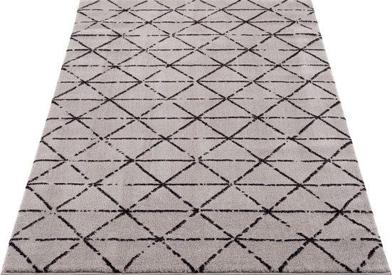 Teppich »Jamal«, Home affaire, rechteckig, Höhe 12 mm, Besonders weich durch Microfaser