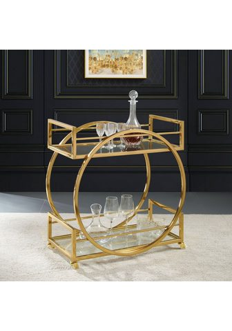 Leonique Servierwagen »Morren« Zeitloses Design...