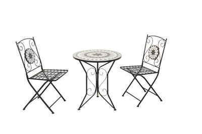 moebel-direkt-online Gartenstuhl »Dolo« (3 Stück), 3tlg.-Set (2Stühle, 1Tisch)