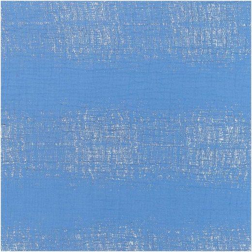 Rico-Design Verlag Stoff »Krinkel-Musselin Block Stripes-A«, 130 cm breit, Meterware