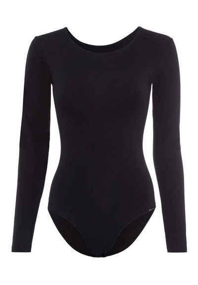Skiny Body »Damen Body - Langarm, Rundhals, Cotton Stretch,«