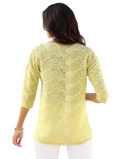 Classic Inspirationen Shirt im Jacquard-Dessin