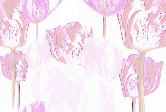 Architects Paper Fototapete »Atelier 47 Tulip Artwork 1«, glatt, floral, (4 St)