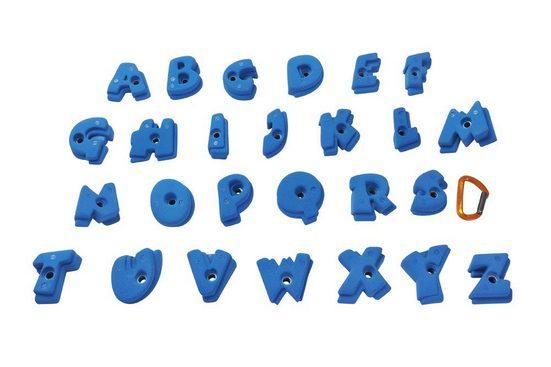 Entre Prises Kletterwand »Entre Prises Klettergriffe Set Alphabet«