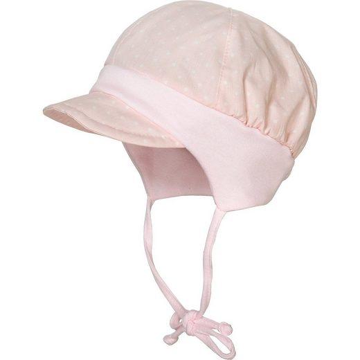 MAXIMO Baby Schirmmütze mit UV-Schutz zum Binden für Mädchen