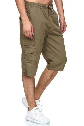 Egomaxx Cargoshorts »2843« Leichte 3/4 Cargo Shorts für Herren