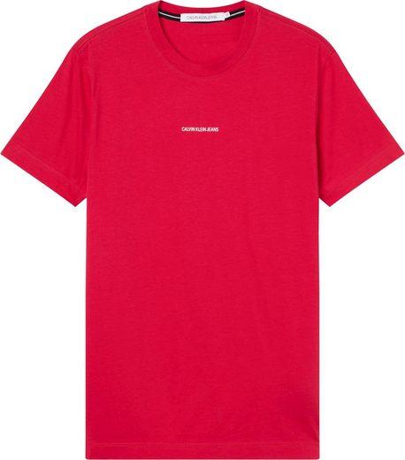 Calvin Klein Jeans T-Shirt »MICRO BRANDING ESSENTIAL SS TEE«